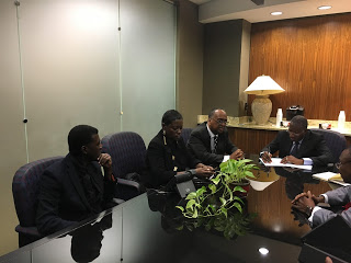Former  Nigerian President GoodLuck Ebele Jonathan Honoured in Atlanta by the SCLC