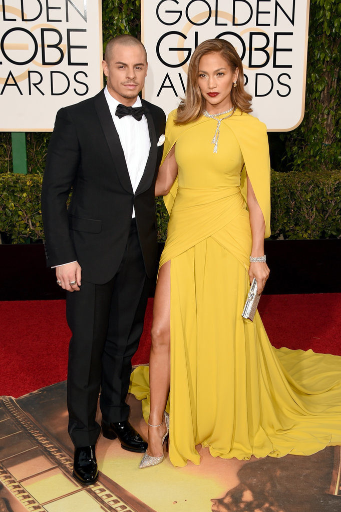 Jlo and Boyfriend Casper Couples of The Night at the Golden Globe Awards 2016