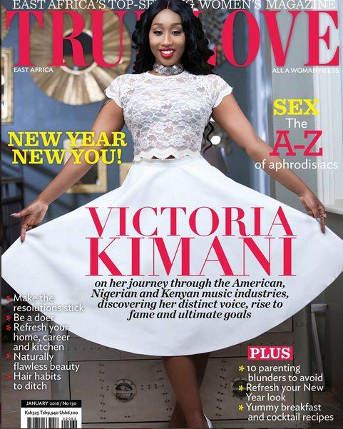 Victoria Kimani slays on the Cover of True Love Magazine