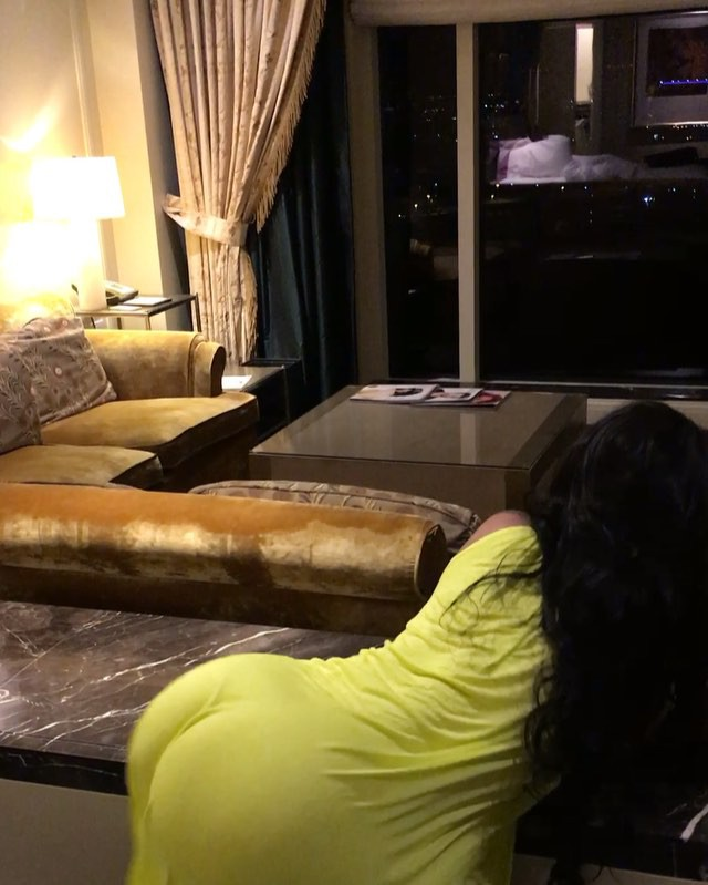 Vera Sidika Twerking To Drake Song inside Her MGM Hotel in Las Vegas