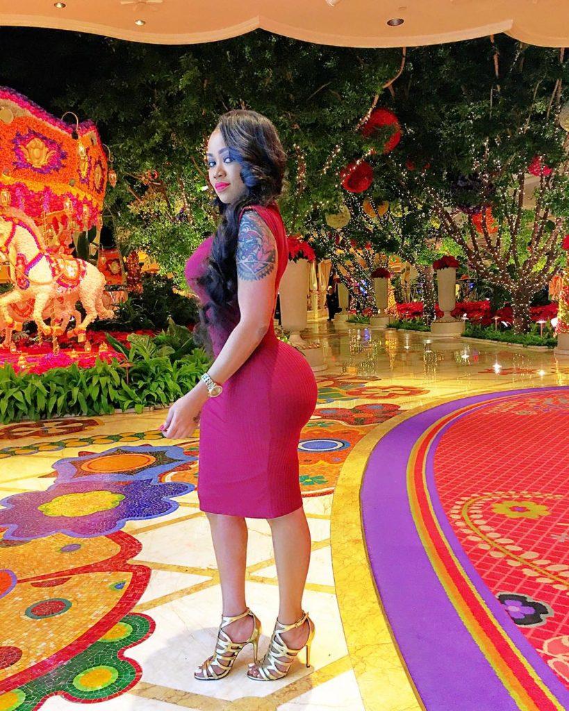 More Photos From Vera Sidika Vacation at the MGM Las Vegas