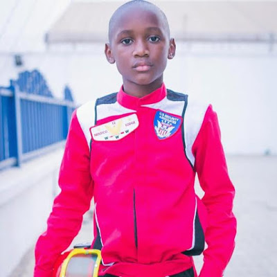 Nino Idibia, son of of 2face Idibia turns 10 years old today