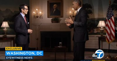 President Obama Shares his Thoughts on the 'White Oscars'