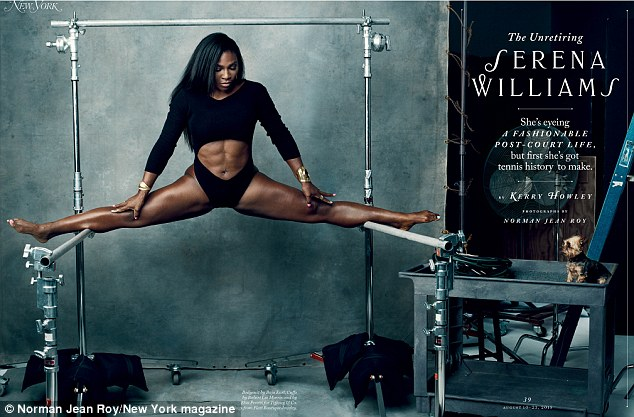 Serena Williams Covers New York Magazine August 2015 Issue