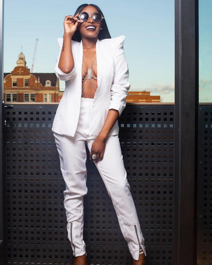 Shuga Star Actress and Criminology Graduate Dorcas Shola Fapson Celebrates  25th Birthday in Braless Photoshoot