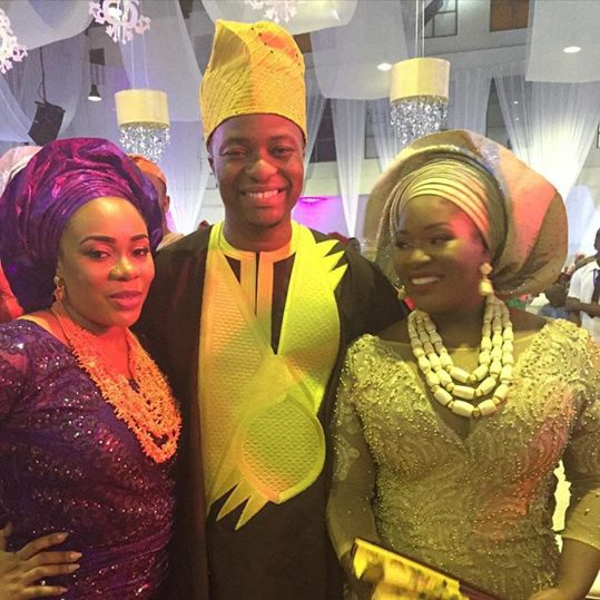 Toolz and Tunde Demuren in their second wedding look