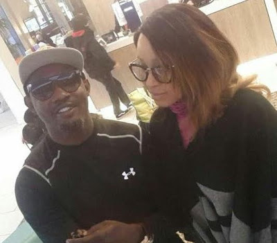 AY's Wife Mabel Makun debunks rumors that their Marriage is suffering a melt down saying AY is my man crush for life'