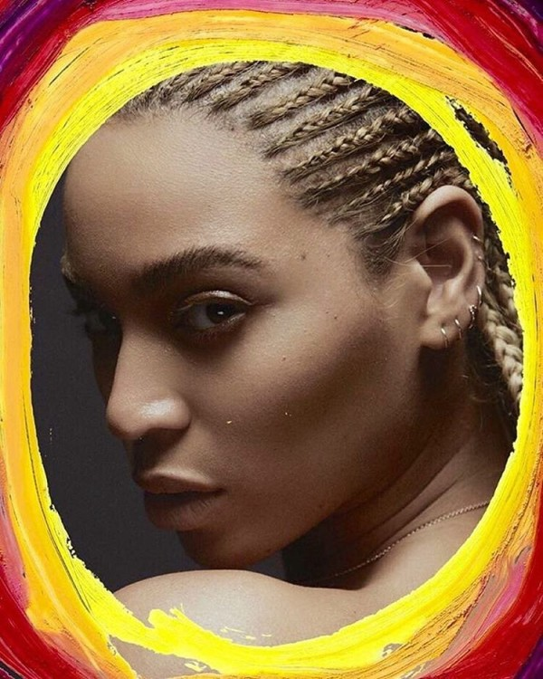 Beyonce Ditches her Weaves and rocks a Golden Braid for Garage Magazine