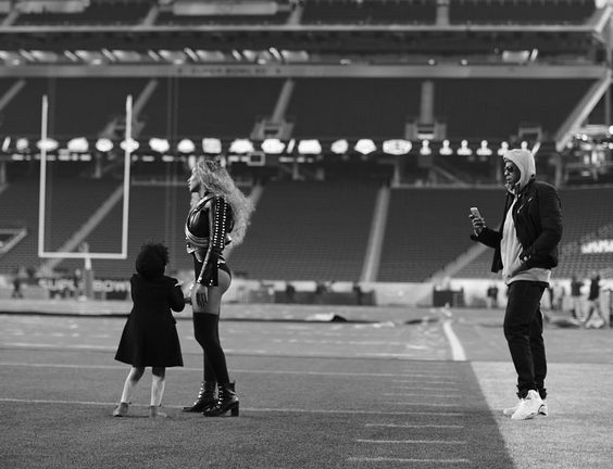 Beyonce shares personal Moment  photos from Super Bowl 50