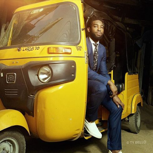 Rapper Tinie Tempah's Photoshoot with TY Bello