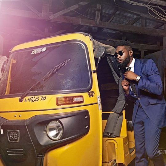 English Rapper Tinie Tempah's Photoshoot with TY Bello