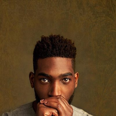 Rapper Tinie Tempah Photoshoot with TY Bello