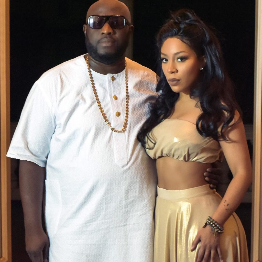 K Michelle  Hints she would be Visiting Nigeria Soon, as she Expressed  Excitement of Collaborating with Seyi Sodimu on Remix of Love me Jeje
