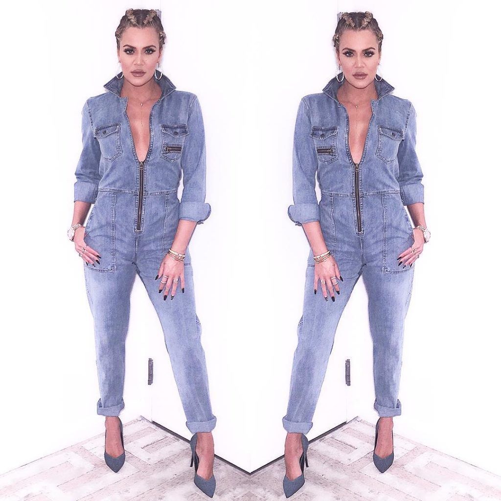 Khloe Kardashain Sexy,Gorgeous and a Super Hot Chick in Denim and  Diamonds