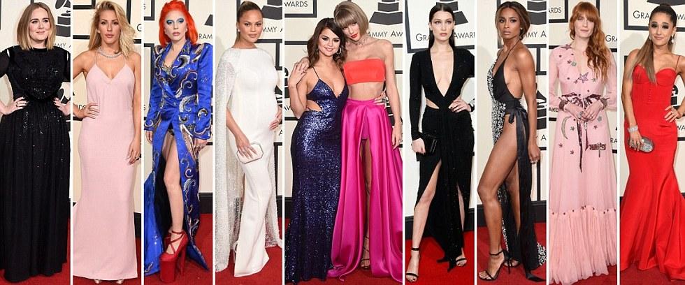 Red Carpet Photos at the 2016 Grammy Awards