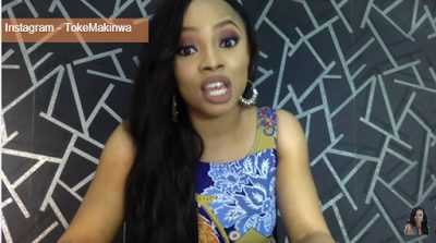 Vlogger Toke Makinwa  addresses side chics and their attempt to 'snatch' a guy from his main chic