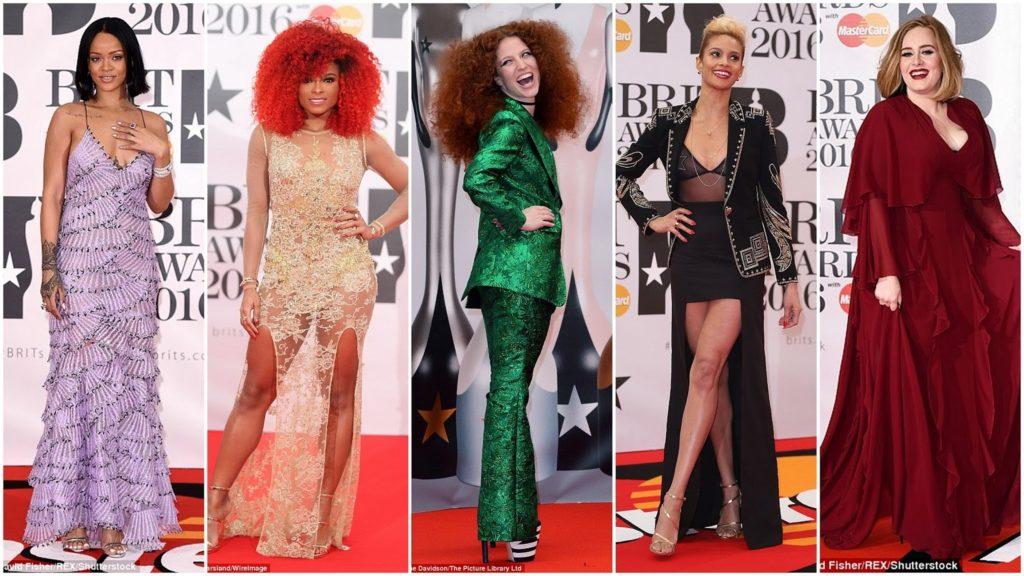 Brit Awards 2016 Red Carpet Photos