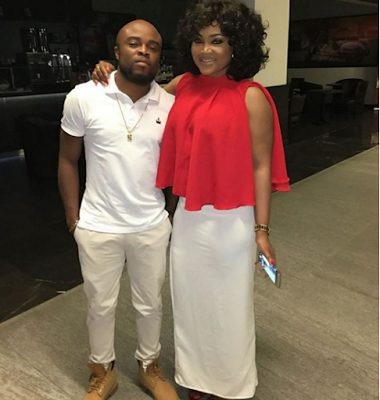 Mercy Aigbe Spends Valentine's day Together in Dubai