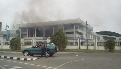 CBN reveals actual cause of explosion at their Calabar branch -