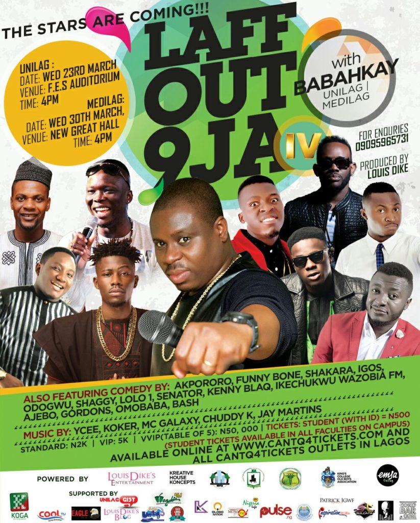 LAFF OUT 9JA with BABAHKAY