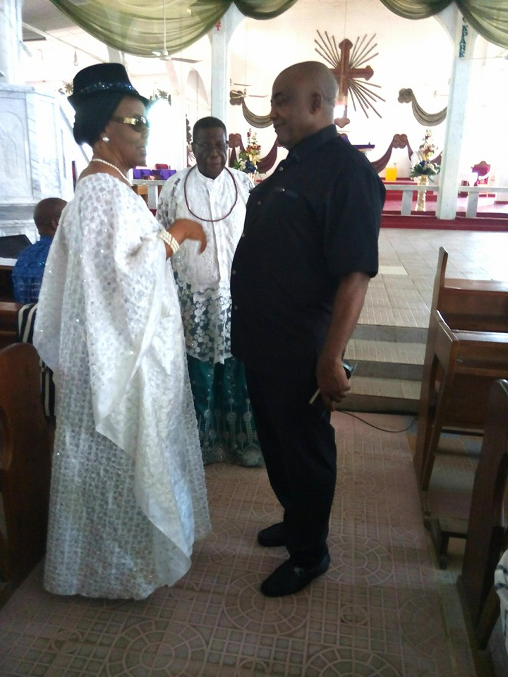 First Photos From Bovi's Mother Burial