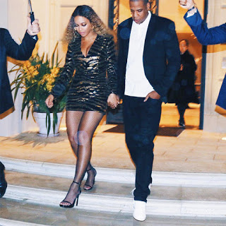 Jay Z and Beyoncé stunning Looks at Blue Ivy's School gala Night