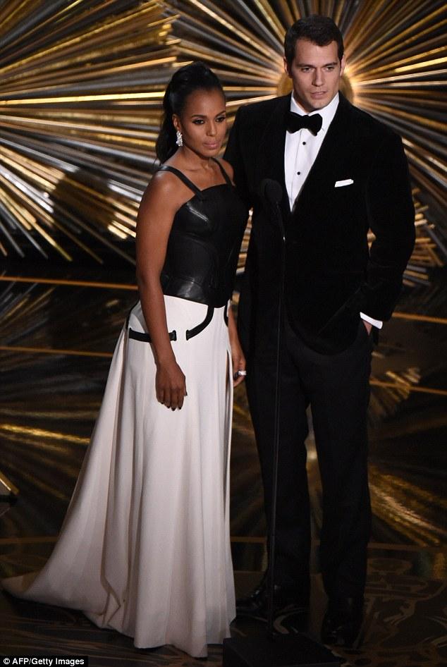 Kerry Washington Raunchy at the Vanity Fair Oscar After Party
