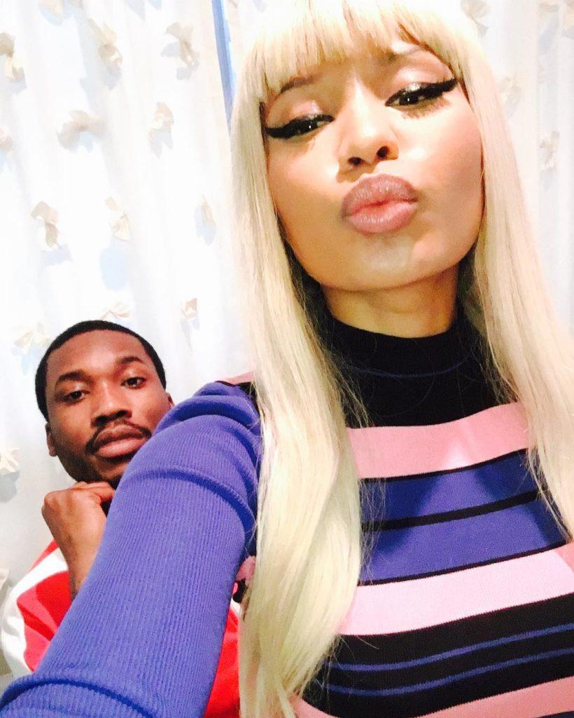 Nicki Minaj Spends Easter with BF Meek Mill