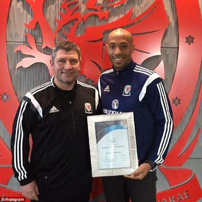 Thierry Henry Earns UEFA A Licence, Cleared To Be A Football Manager