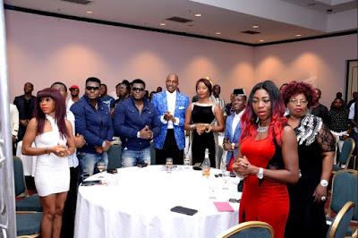 Ubi Franklin Throws His Wife Lilian Esoro A star Studded Birthday Bash