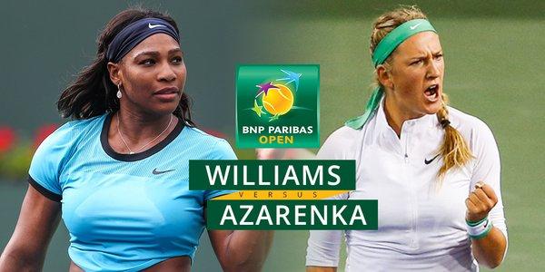 WatchSerenaWilliamsvVictoriaAzarenkaIndianWellswomen27sfinal