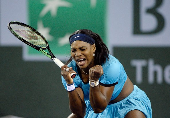 Serena Williams Beat Radwanska 6-4,7-6(1) to reach WTA Paribas Open Semi-Final