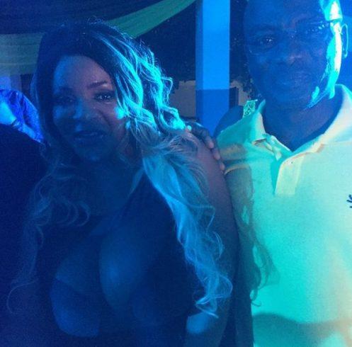 Cossy Orjiakor and her massive boobs Parties Hard Park Inn in Abeokuta