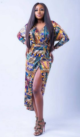Ini Edo Stuns in New Photos as she Turns a Year Older