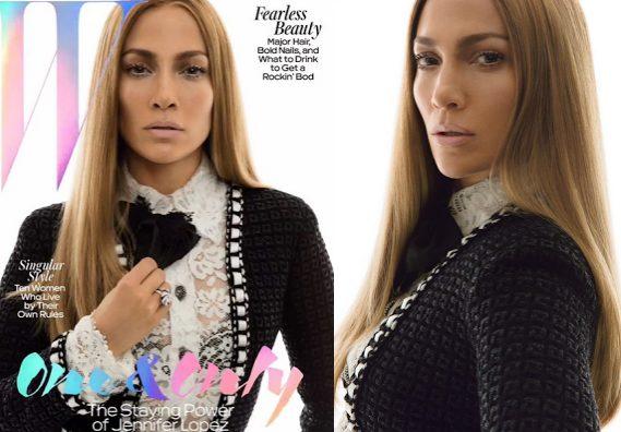 Jlo Covers W Magazine