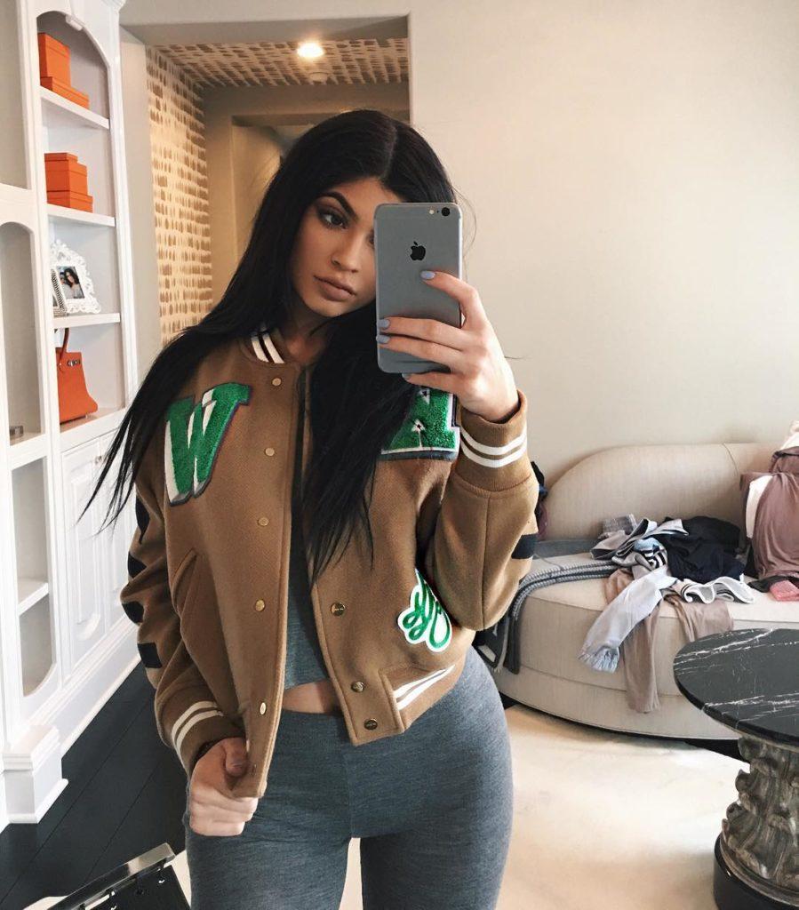 Kylie Jenner Displays her sexy Body in yellow Bikini