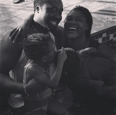 MercyJohnsonSharesadorablePhotosofherandherfamilychillinginsidetheSwimmingPool