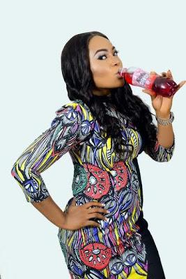 Nollywood actress Nkoli Nwa Nsukka (Rachael Okonkwo) Unveiled as brand ambassador for Rapha Juice