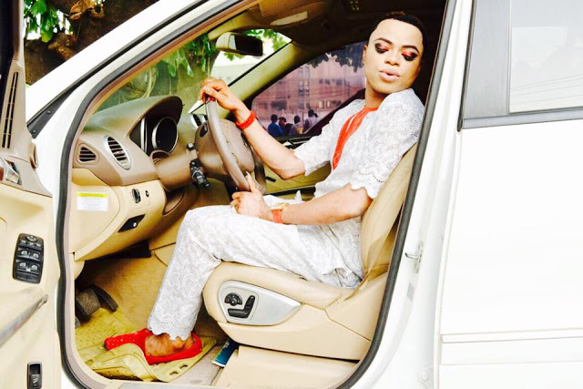 Okuneye Idris Olanrewaju  AKA Nigeria's 'Male Barbie Doll' shares new Photos