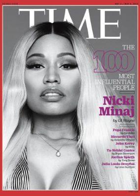 Nicki Minaj  Cover TIME magazine 100 Most Influential People