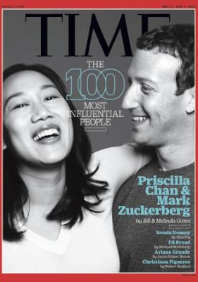 Priscilla Chan Cover TIME magazine 100 Most Influential People