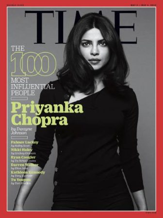 Priyanka Chopra Cover TIME magazine 100 Most Influential People