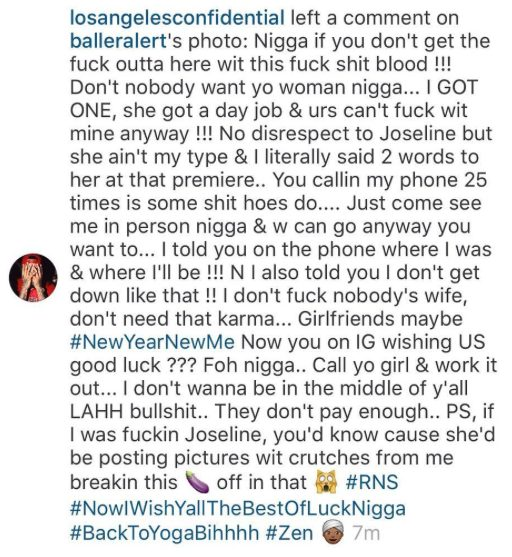 The Game Shades Stevie J Over Comments he made on Joseline Photo with him