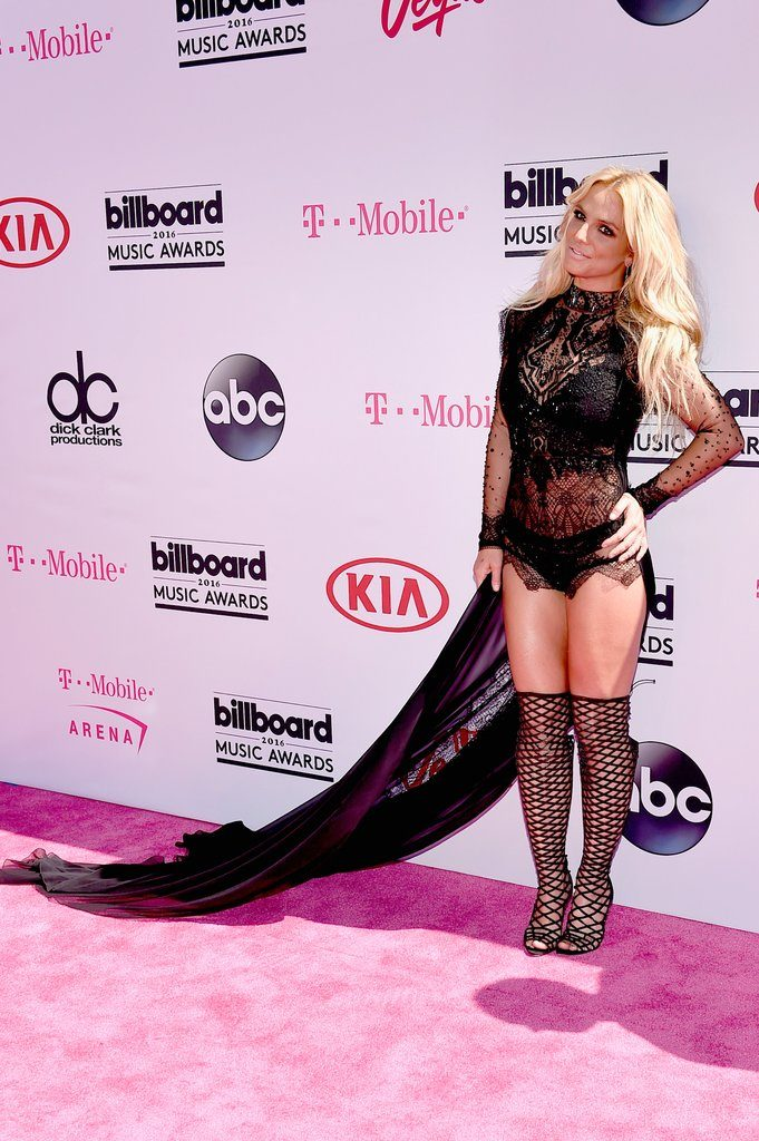 Britney Spears at The 2016 Billboard  Music Awards Red Carpet