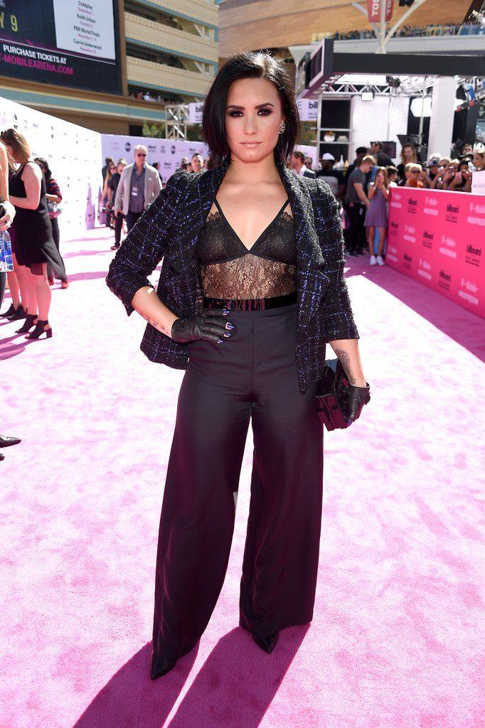 Demi Lovato at The 2016 Billboard  Music Awards Red Carpet