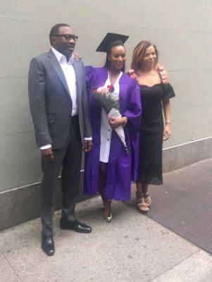 Dj Cuppy Graduates with Masters from NYU