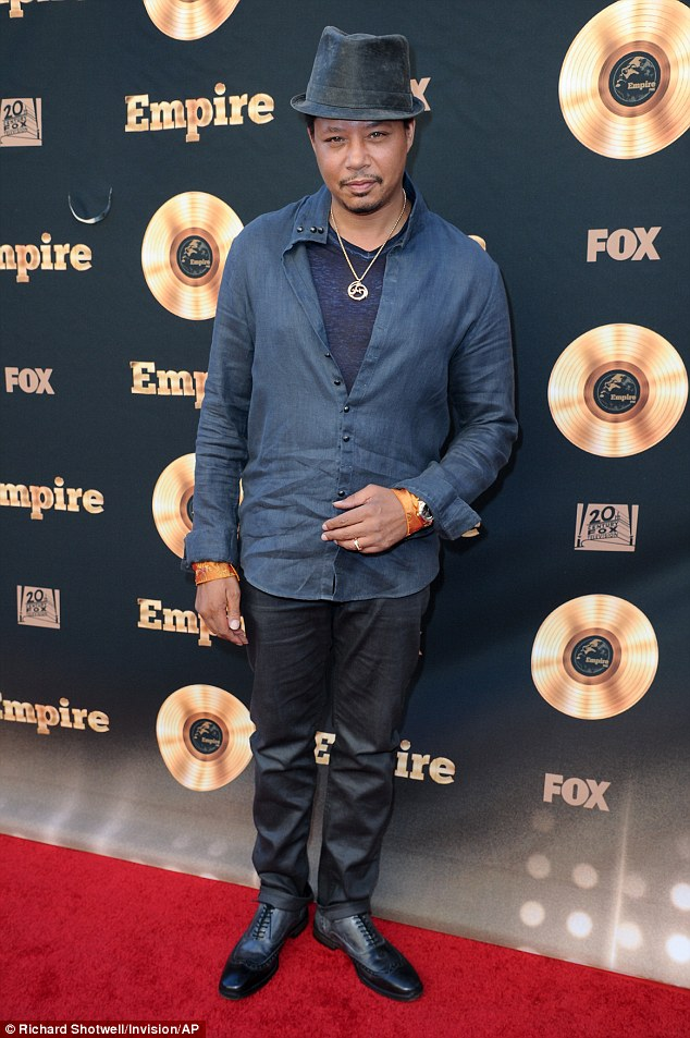 Terrence Howard looking hot at Special Event Celebrating Empire