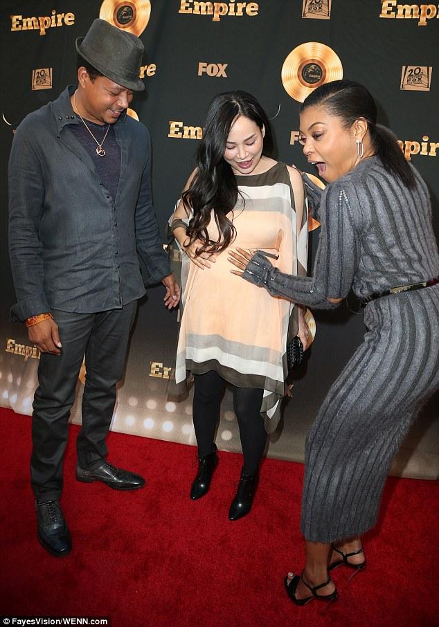 Empire Power Couple,Taraji P. Henson and Terrence Howard looking hot at Special Event Celebrating Empire