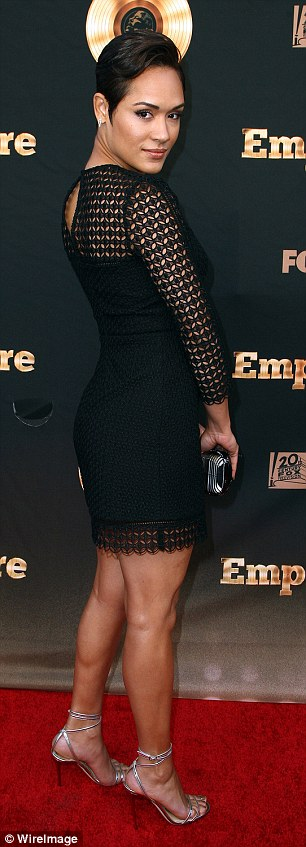 Grace Gealey looking hot at Special Event Celebrating Empire