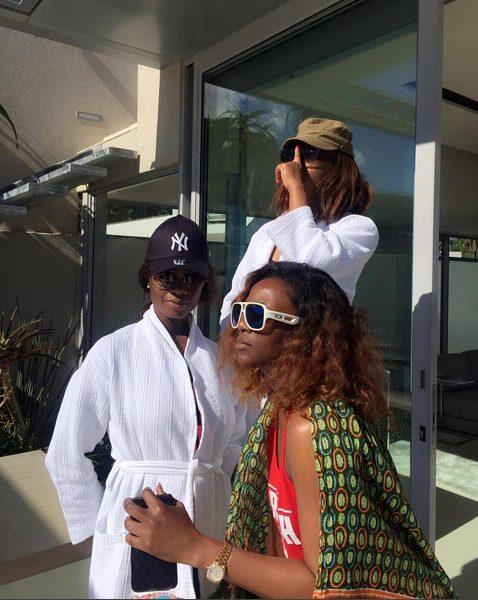 Genevieve Nnaji shares Vacation Photos of her, Oluchi and Ojy Okpe